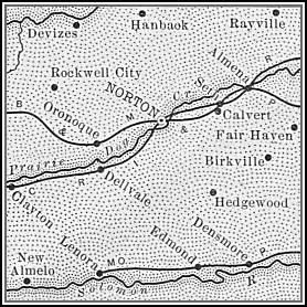 Norton County Map