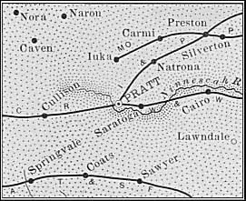 Map of Pratt County