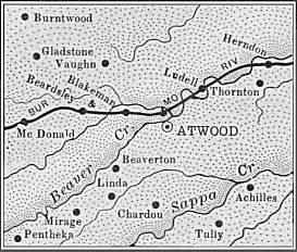 Rawlins County map