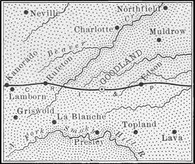 Sherman County map