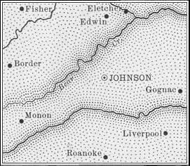 Stanton County map