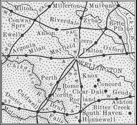 Sumner County map