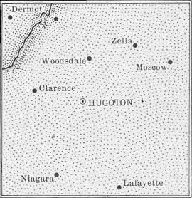 Stevens County map