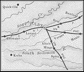 Thomas County map