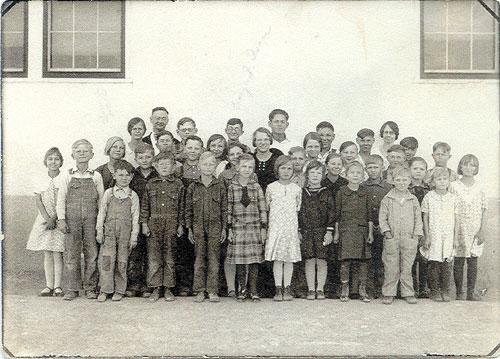 Children at Pleasant Hill School