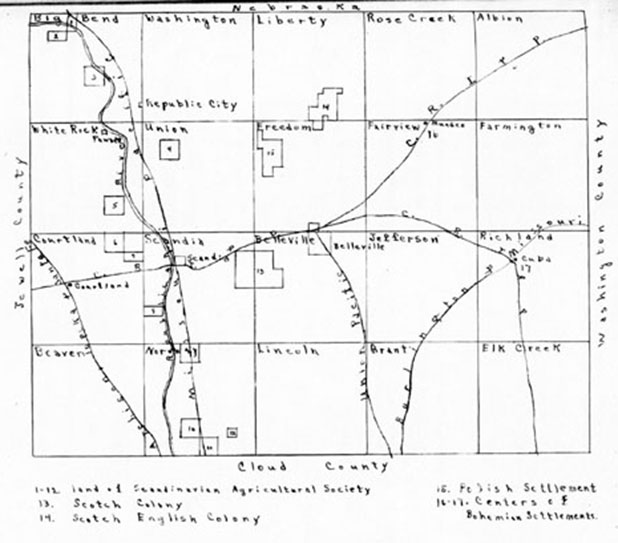 Republic County Settlements