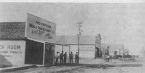 Downtown Menlo 1910