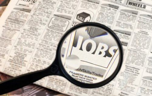 classified ads with the word jobs highlighted