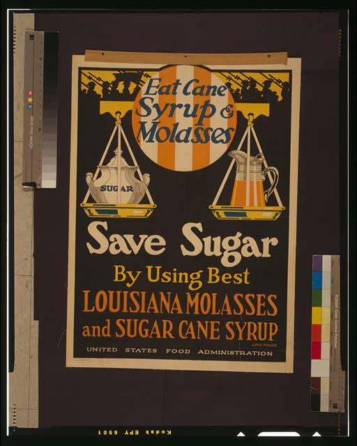 "Picture of ""Save Sugar"" poster, U.S. Food Administration"