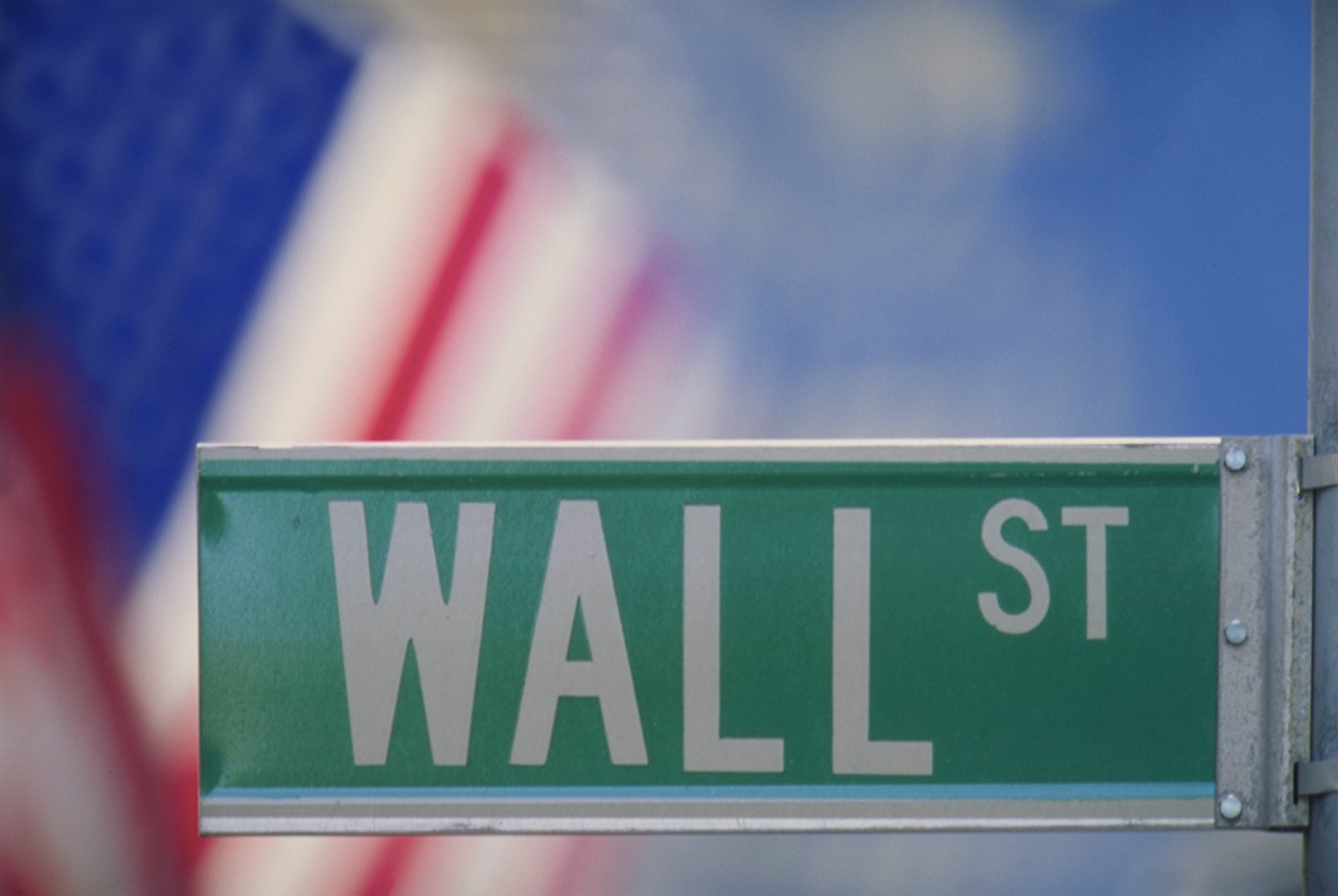 photo of street sign: Wall St.