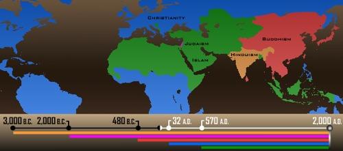 Maps of War website timeline