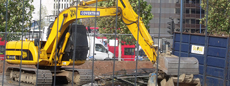 Picture of construction digger