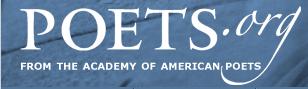 Poets.org logo.