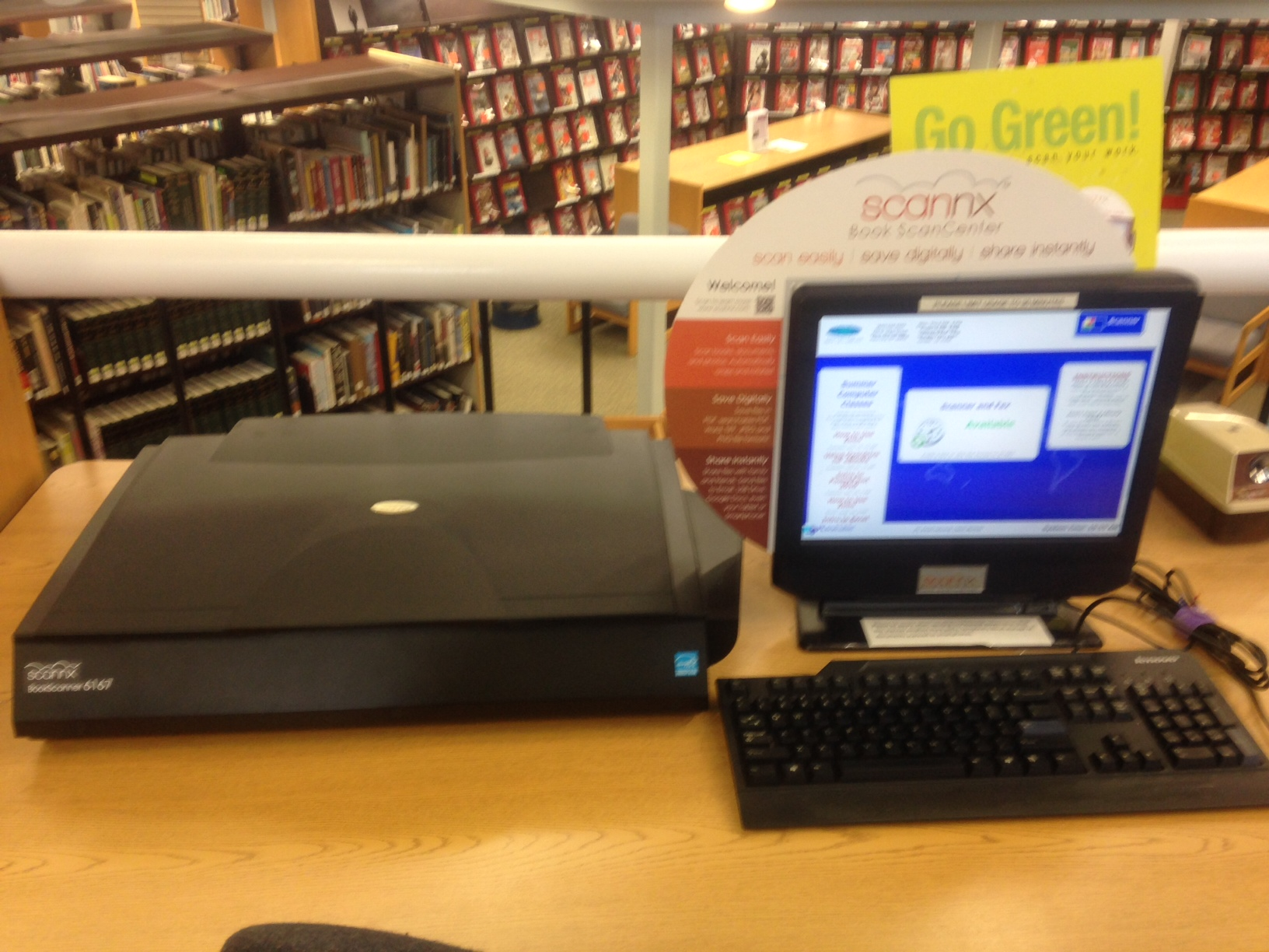 library scanner