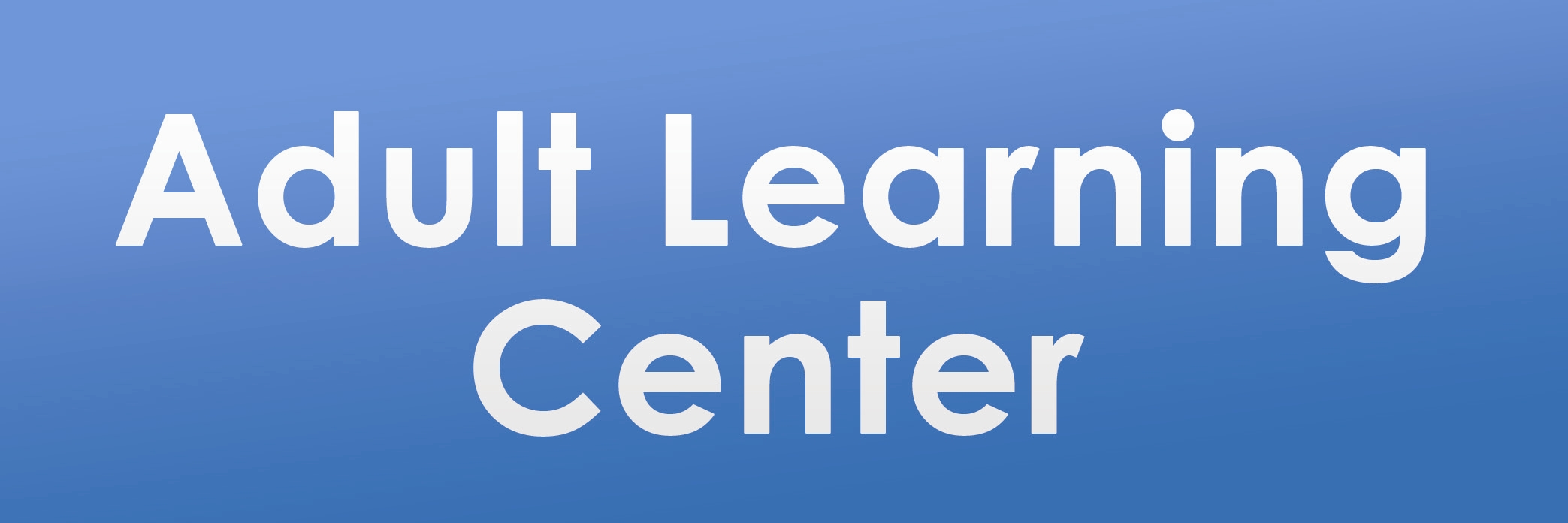 Adult Learning Center