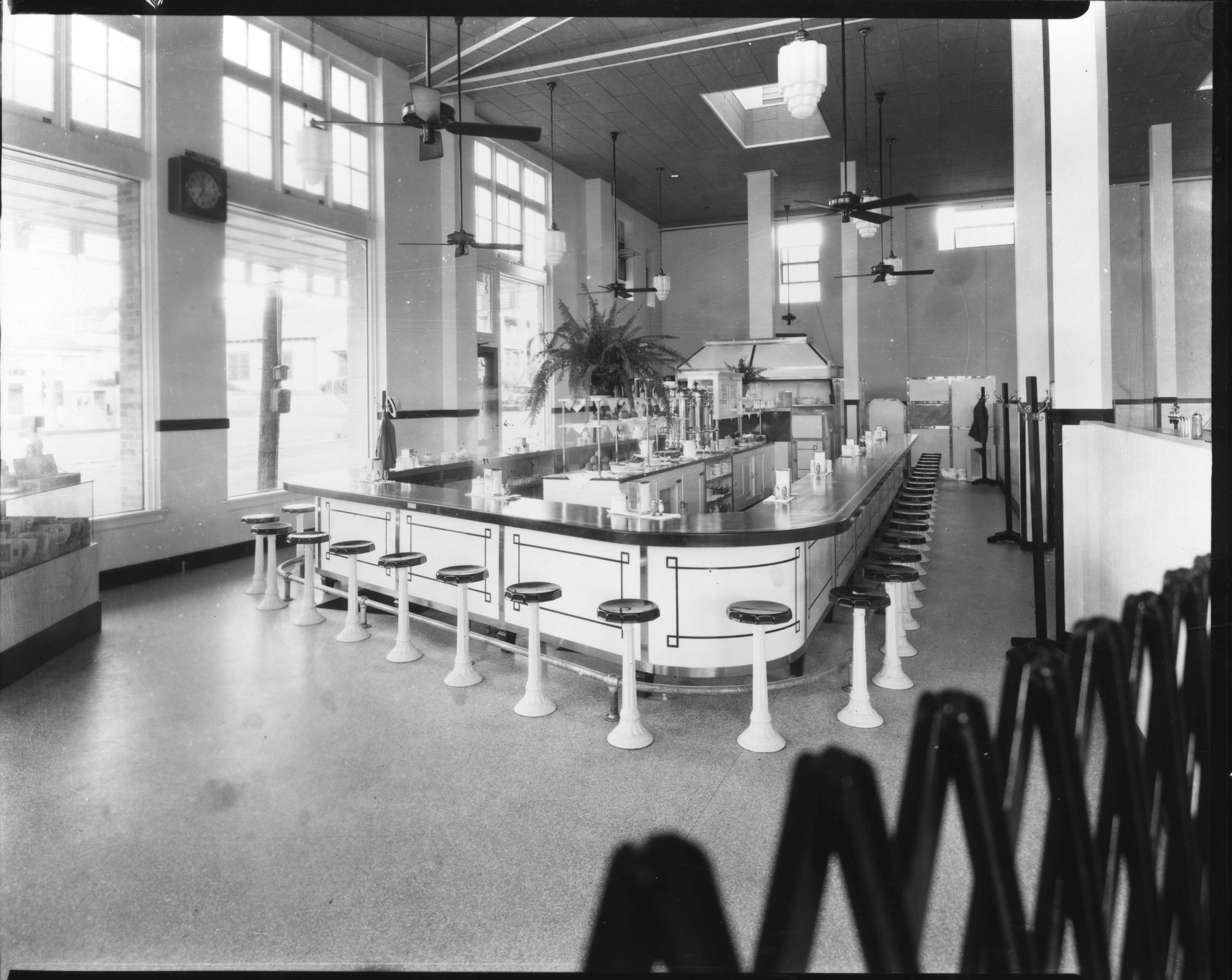 lunch counter in the 20s
