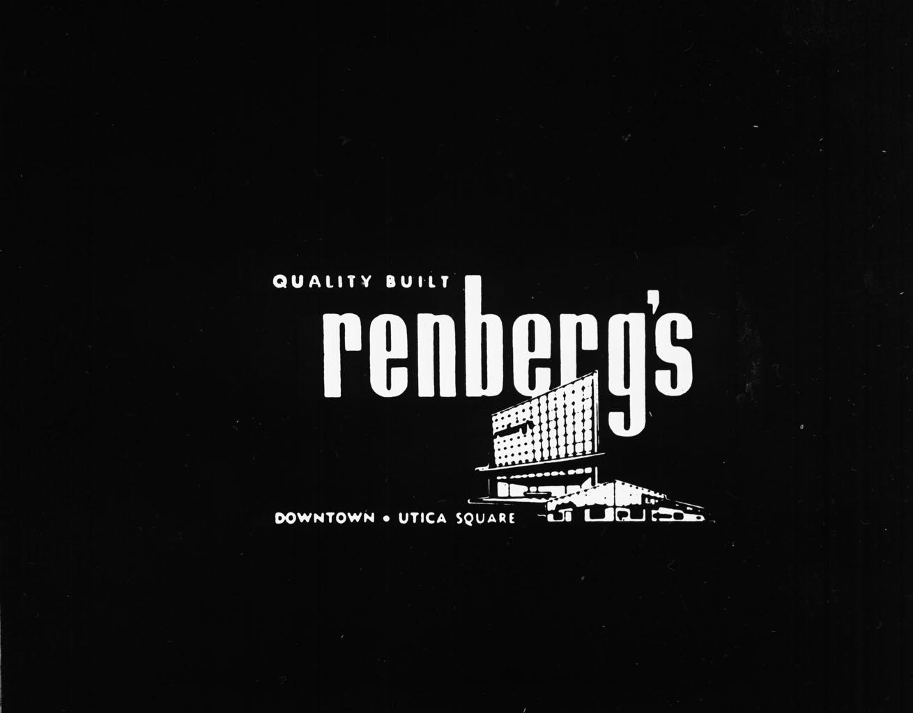 renberg's advertisement