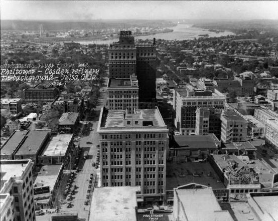 downtown tulsa: 1927