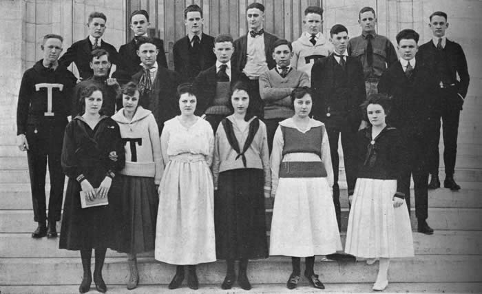 Central High School Tom Tom 1919: Twelve B Seniors