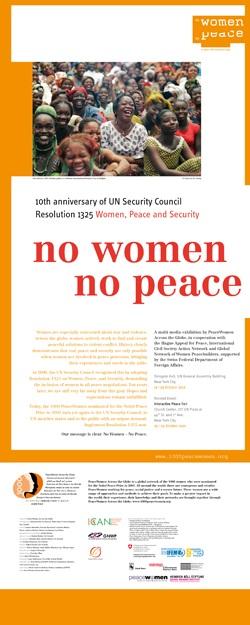no women no peace