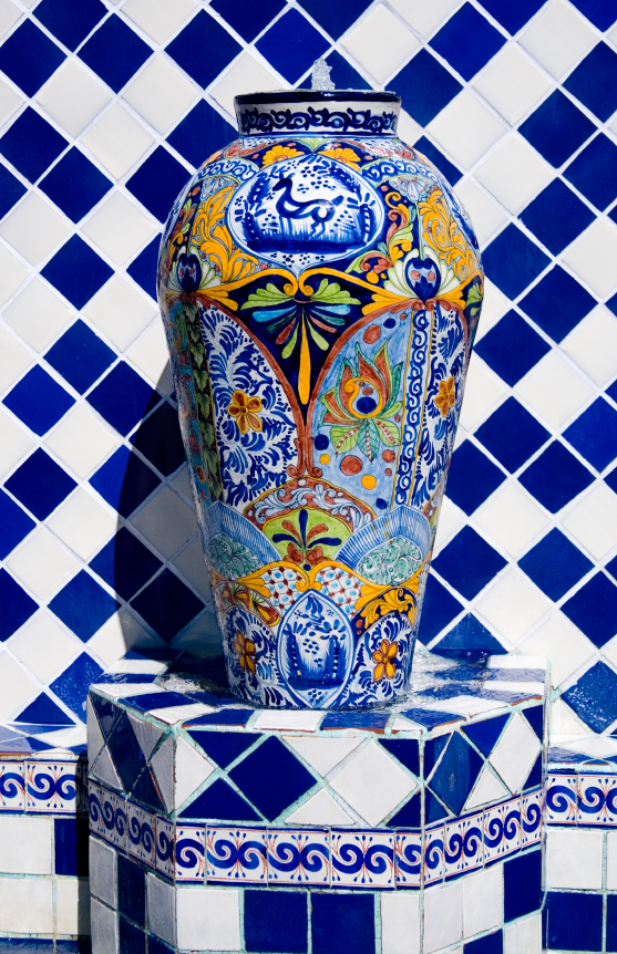 Photo of a decorative vase.
