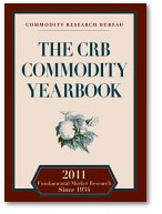 Cover shot of the Commodity Yearbook