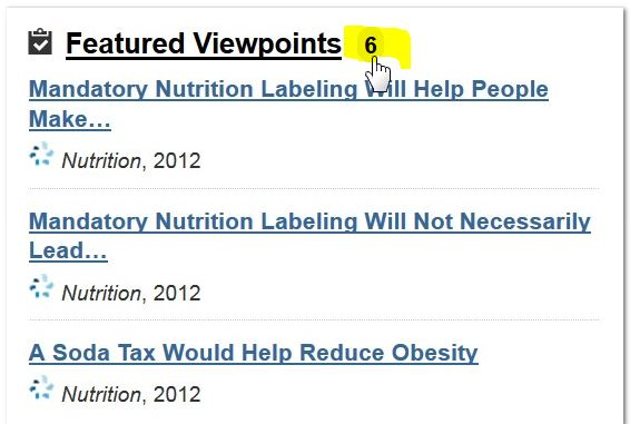 screenshot from opposing viewpoints