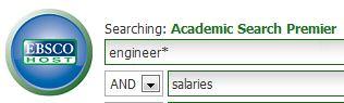 keyword search: engineering salaries
