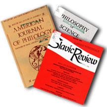Peer reviewed journal covers -- plain and straightforward in their presentation