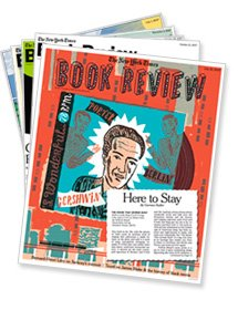 stack of book reviews from The New York Times