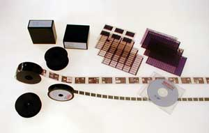 Examples of microform materials.