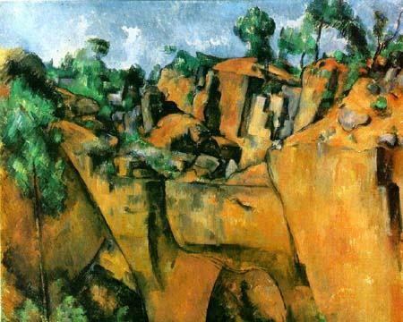 Cezanne, Bibemus Quarry