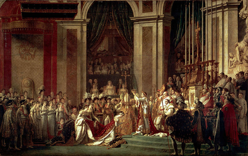 David, Coronation of Napoleon