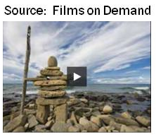 Films on Demand video page example.