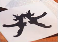What is the Rorschach inkblot test?