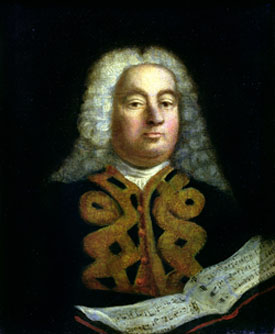 George Frideric Handel with the Messiah, 1749, Foundling Museum