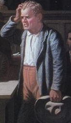 Bingham, George Caleb. Puzzled Witness. ARTSTOR
