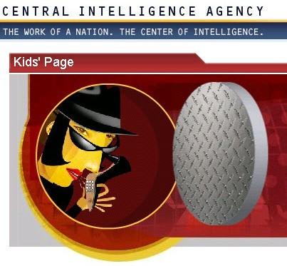 CIA Kids page