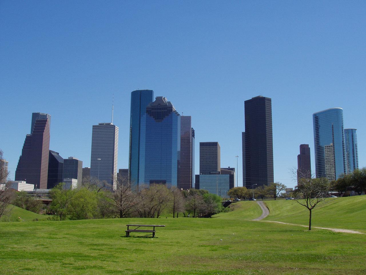 Houston skyline image