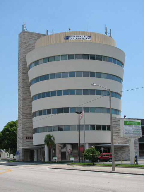 An office building