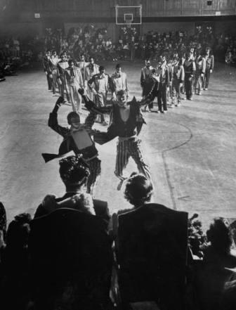 Photograph of black dance