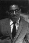 Dizzy Gillespie with glasses