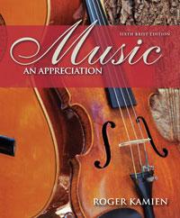 Kamien: Music, an introduction