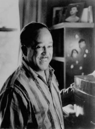 photo of Langston Hughes