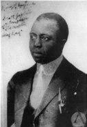 signed photo of Scott Joplin