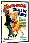 Shall We Dance Fred Astaire and Ginger Rogers DVD cover