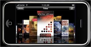 Stanza app on iPod