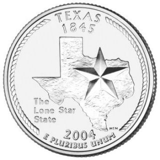 Texas Quarter Coin