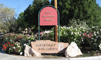 Tony Hillerman Library and Albuquerque Rose Garden