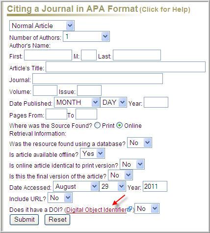 Free work cited mla format